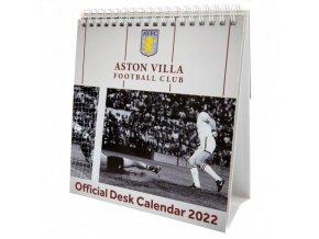 Stolní Kalendář Aston Villa FC 2022