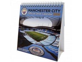 Stolní Kalendář Manchester City FC 2022