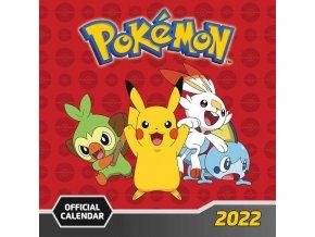 Kalendář Pokémon 2022