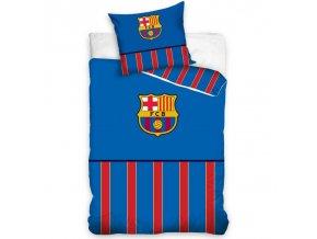 Fotbalové povlečení FC Barcelona Half of Stripes