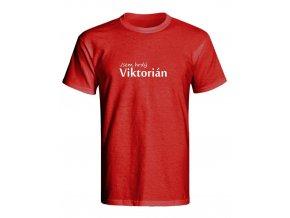 Triko Jsem hrdý Viktorián červená (Velikost L)