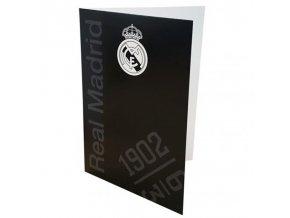 Přání Real Madrid FC bk