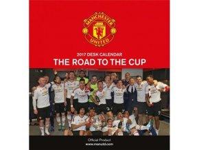 Stolní Kalendář Manchester United FC 2017