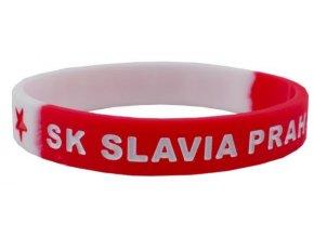 Dospělý silikonový náramek Slavia