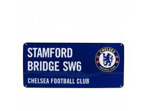 Cedule Chelsea FC Název Ulice bl