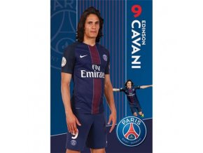 Plakát Paris Saint Germain FC Cavani 42