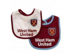 Bryndáček West Ham United FC - 2 kusy