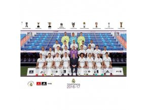 poster real madrid 2016 2017 plantilla