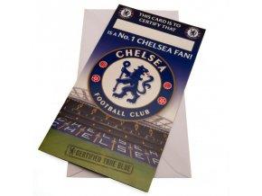 Přání Chelsea FC No 1 Fan