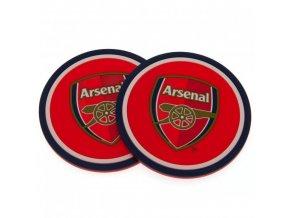 Silikonový Tácek Arsenal FC Sada 2ks