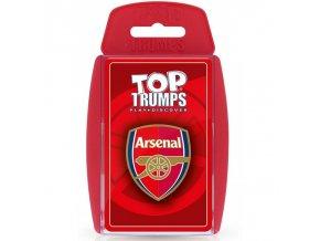 Karty Arsenal FC Top Trumps