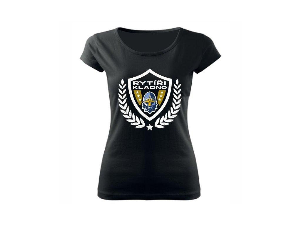 011 Dámské tričko RYTÍŘI IMPERIUM černé