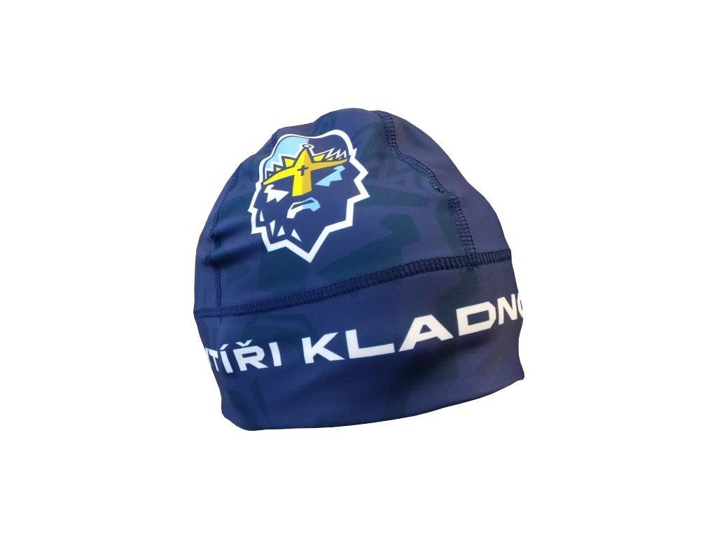 017 Zimní čepice GAVA RYTÍŘI KLADNO modrá