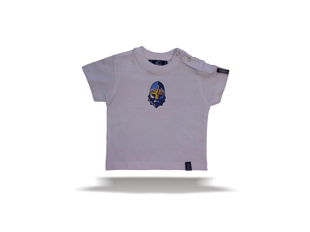 092 Tričko RYTÍŘI BABY bílé
