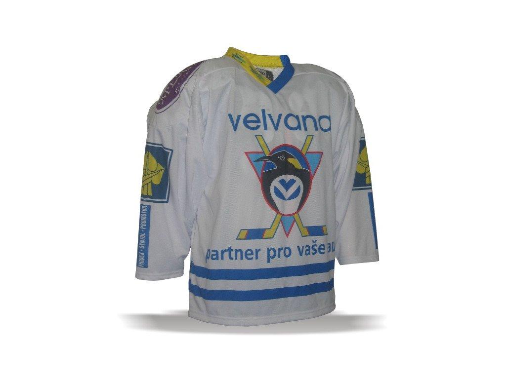 026 Dres HC VELVANA 2000-01 bílý