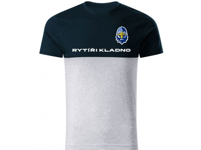 000 Tričko RYTÍŘI CONNECTION navy-grey