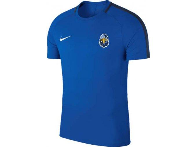 010 tričko NIKE RYTÍŘI TRENINK modré