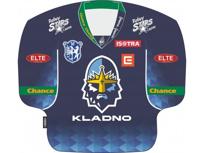 024 Polštářek dres RYTÍŘI 2020-21 modrý