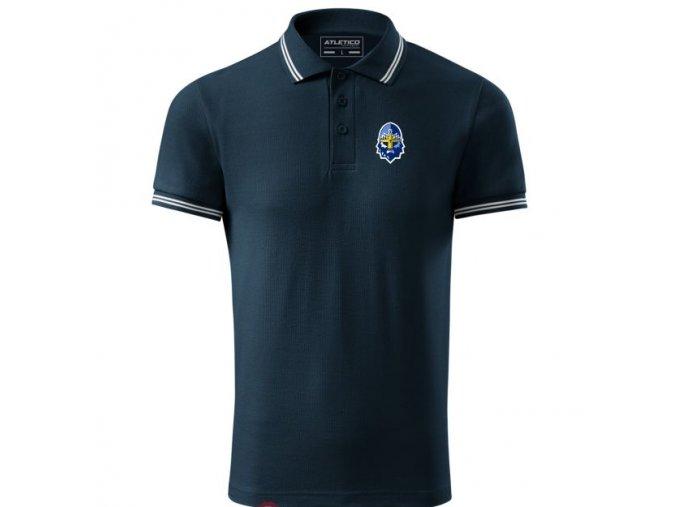 000 Tričko POLO RYTÍŘI navy pánské