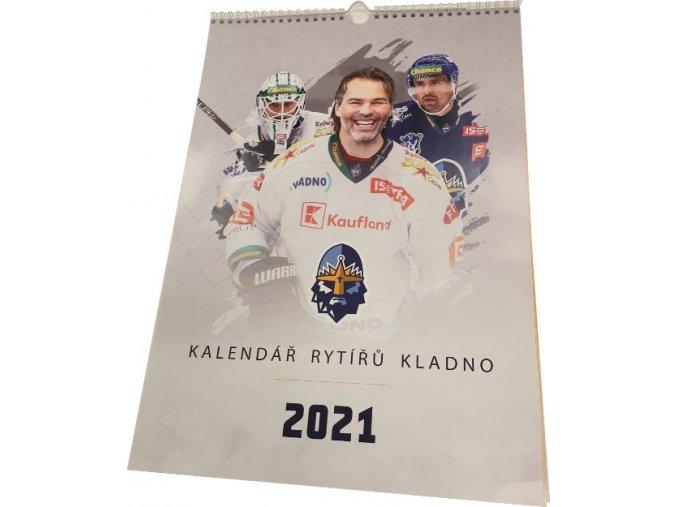 000 Nástěnný kalendář RYTÍŘI 2021