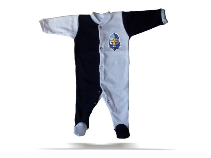 094 Baby OVERAL RYTÍŘI navy-bílý