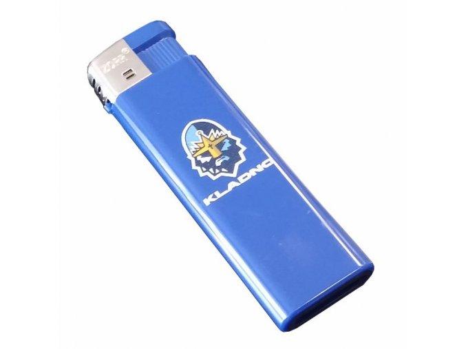 162 Zapalovač Rytíři Kladno modrý