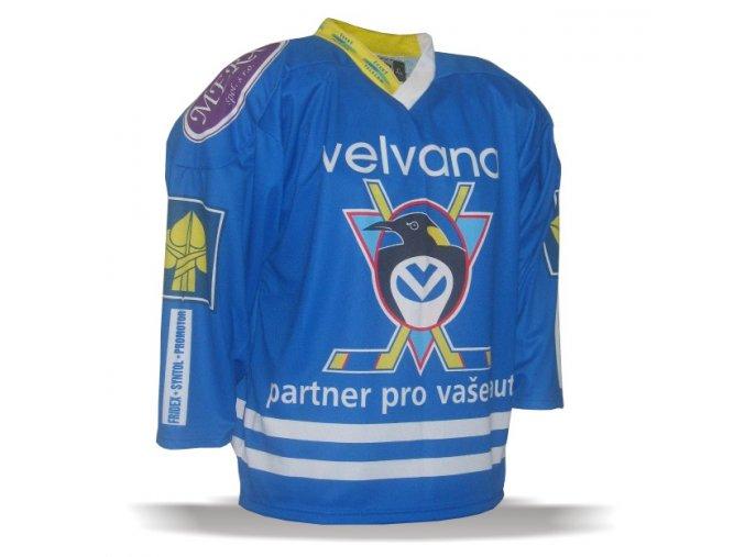 028 Dres HC VELVANA 2000-01 modrý
