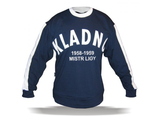 042 Retro dres Kladno 1958-59 modrý