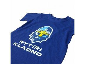 012 Tričko RYTÍŘI KINDER modrá