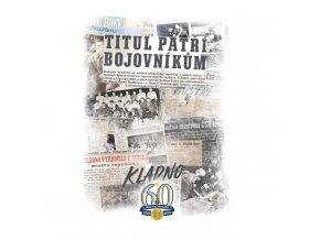 000 Tričko KLADNO TITUL 1959 bílé