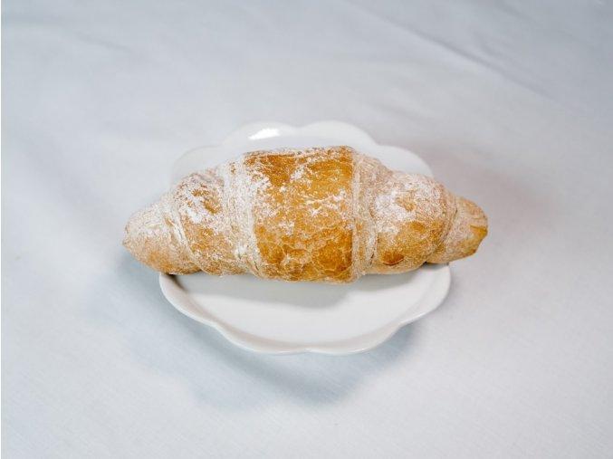Croissant s jahodovou náplní