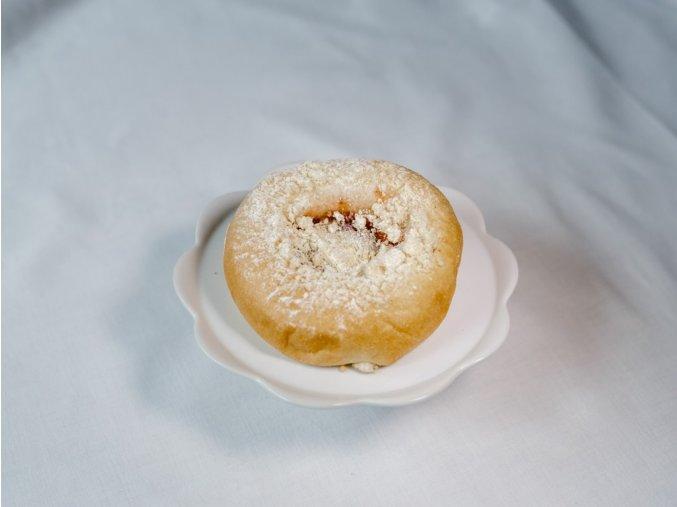 Pohádkový koláč (tvaroh, jahoda)