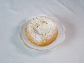 Pohádkový koláč (tvaroh, povidla)