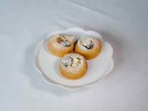 Svatební koláček - povidla, tvaroh