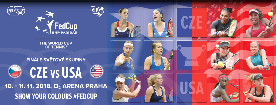 Finále Fed Cup CZE vs. USA