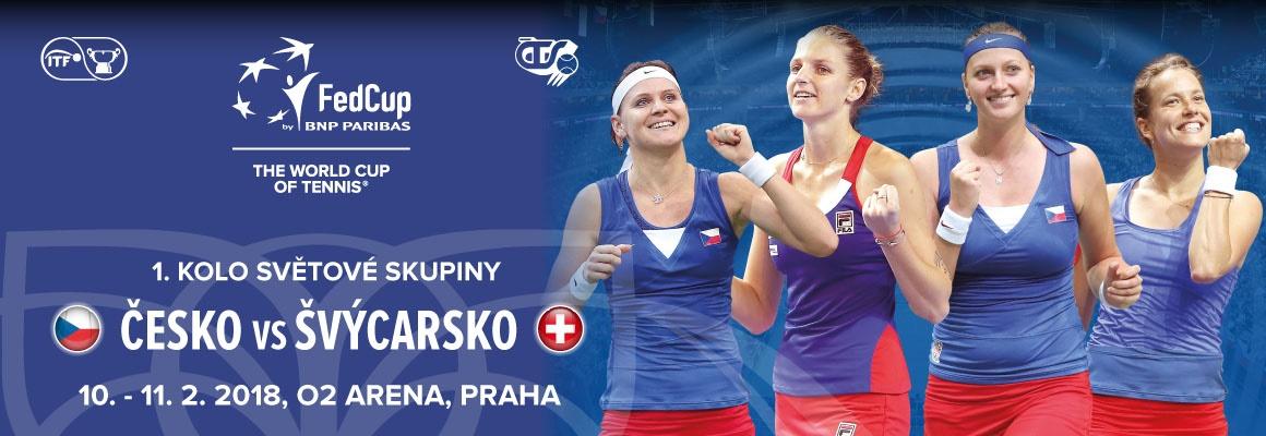 FED CUP 2018 ČR vs. SUI