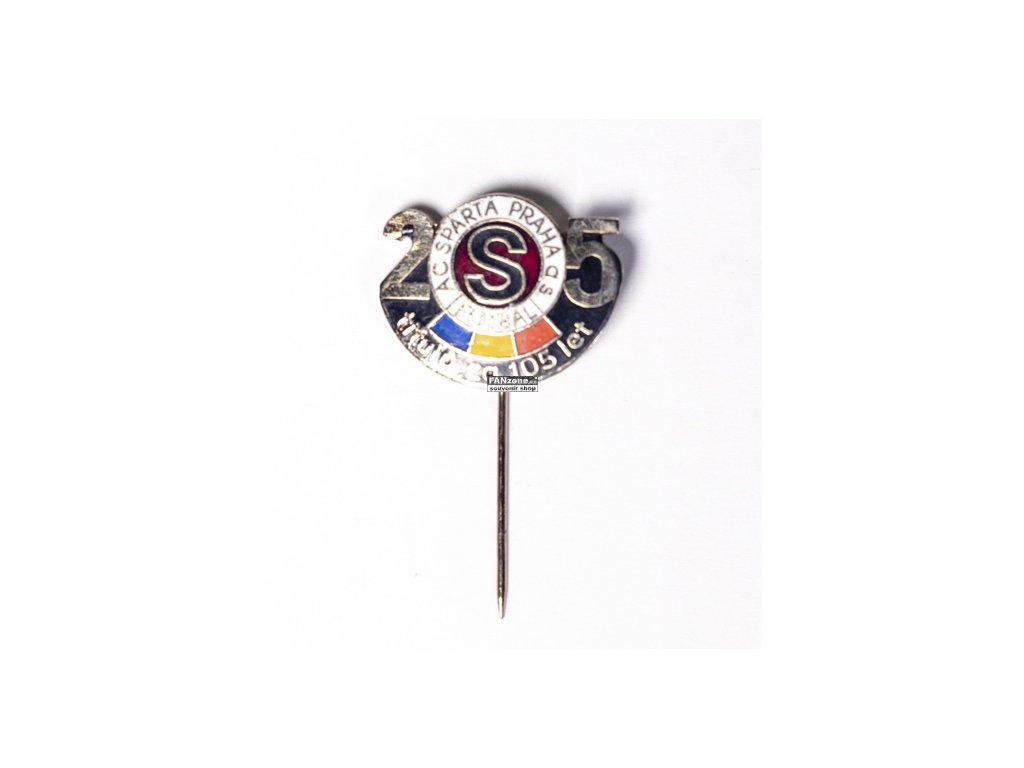 4736d04b5 Odznak AC Sparta Praha,25 titulů za 105 let - FANzone
