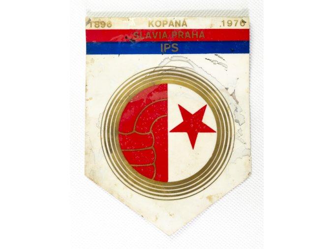 Autovlajka torzo SK SLAVIA PRAHA IPS 80 let (1)
