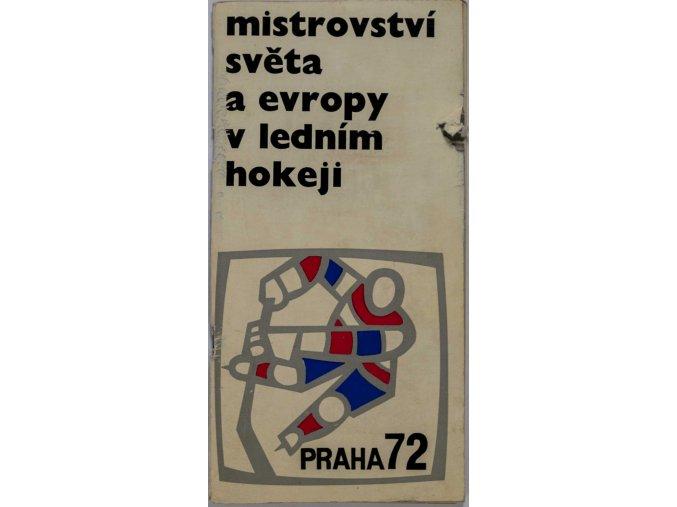 MS v ledním hokeji Praha 1972 III sport antique 30 7 17 (87)