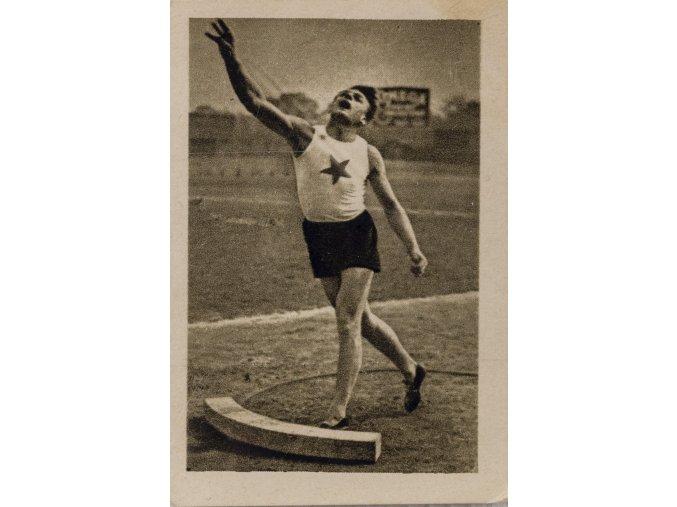 Kartička sběratelská ILSA, 1934, Douha ( ČSR), 38