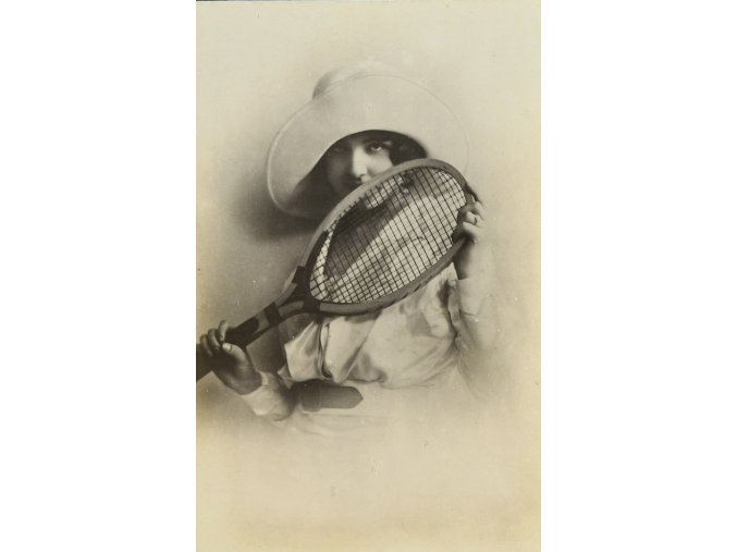 Lady Tennis sport antique cervec 17 (112)