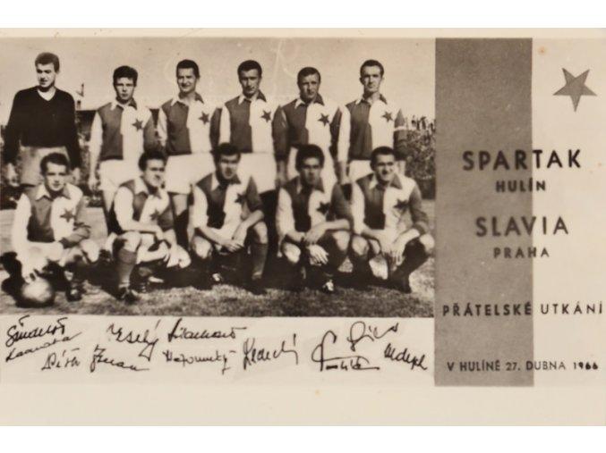 Foto Slavia Praha vs. Spartak Hulín sport antique cervec 17 (33)