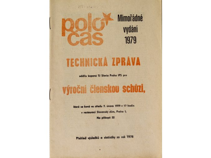 POLOČAS SLAVIA mimořádné vydání 1979 (1)