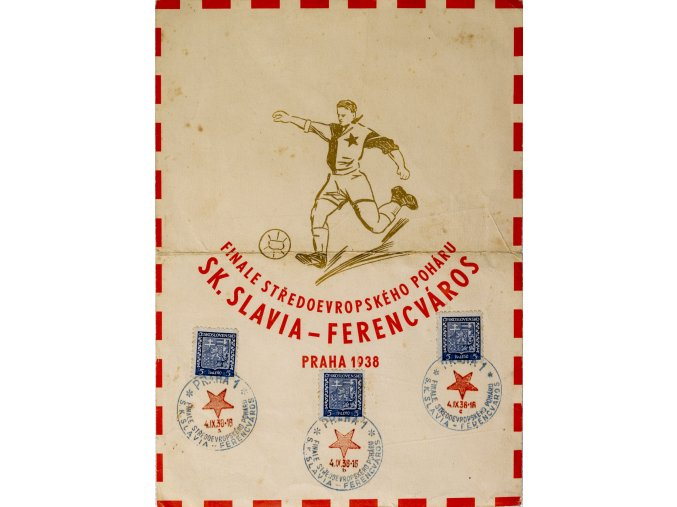 CELISTVOST SK SLAVIA FERENCVAROS 1938 III
