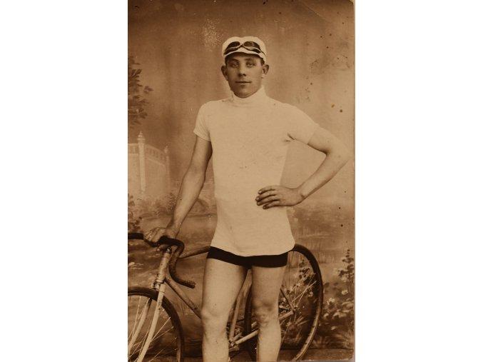 Pohled profesionální cyklista 1910 1920 III sport antique 30 7 17 (7)