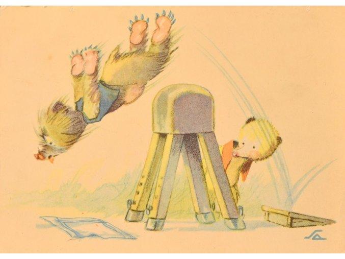 Medvědí gymnastika sport antique cervec 17 (37)