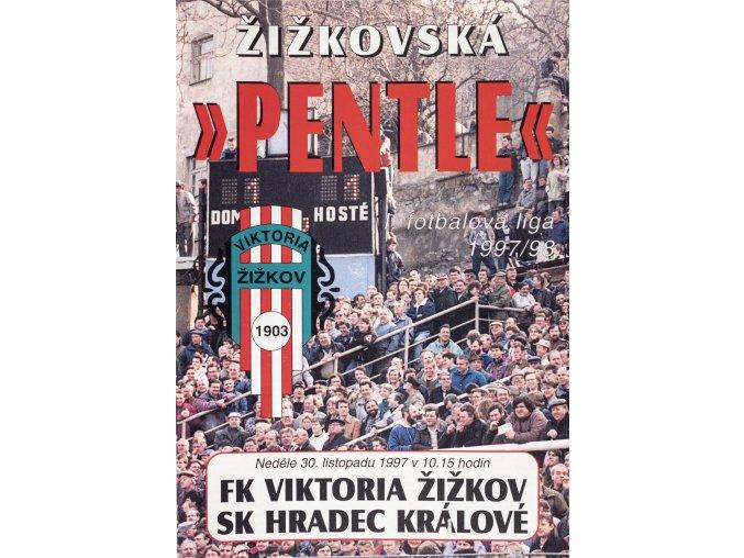 Program Žižkovská pentle, Žižkov vs. SK Hradec Kralové, 1997