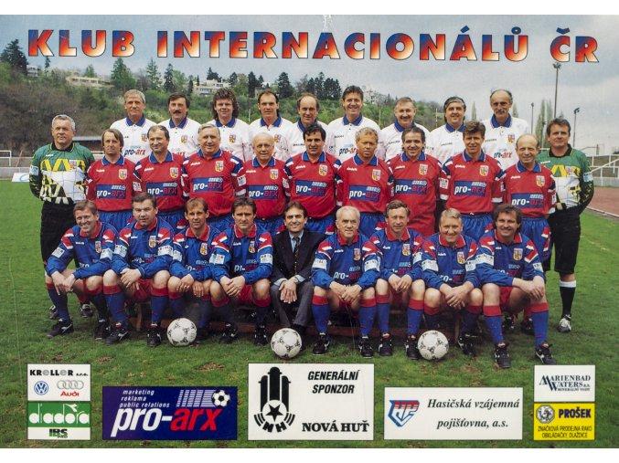 Fotopohlednice velká, Klub Internacionálů ČR, podpisy (1)
