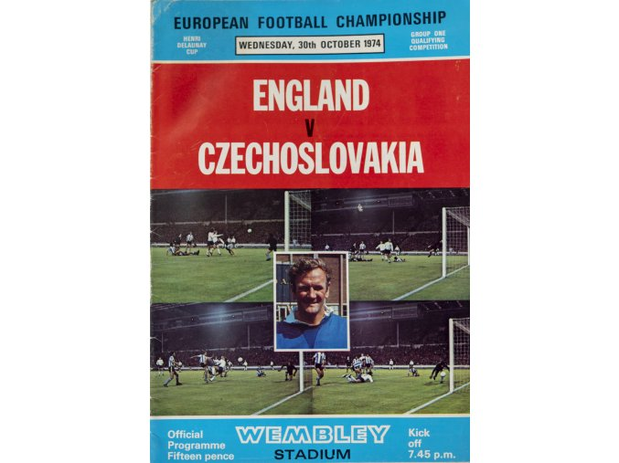 Program England v. Czechoslovakia, 1974 (1)