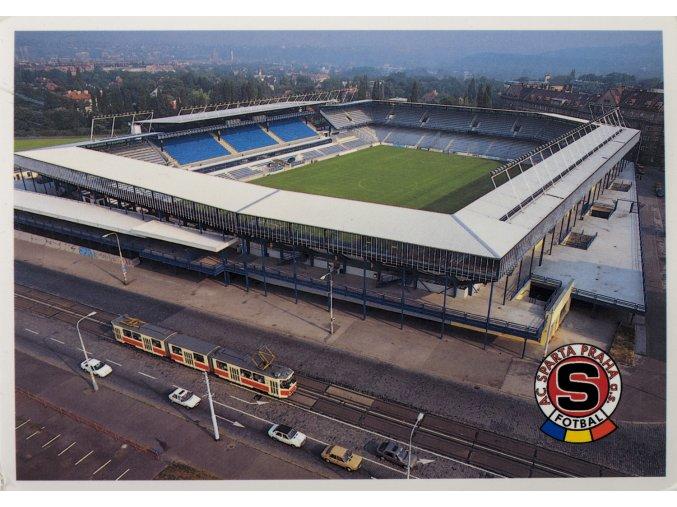 Pohlednice stadión AC Sparta Praha fotbal (1)